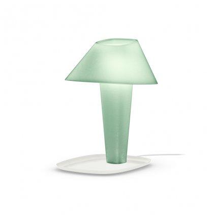čajová stolní lampička
