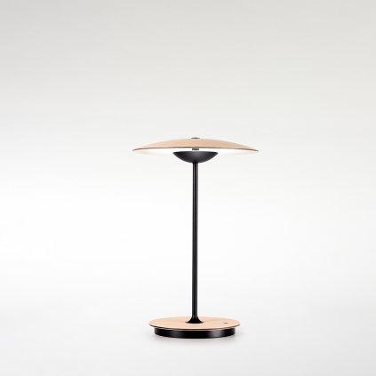 přenosná dřevěná lampa