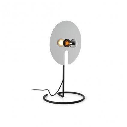 leskla stolní lampička