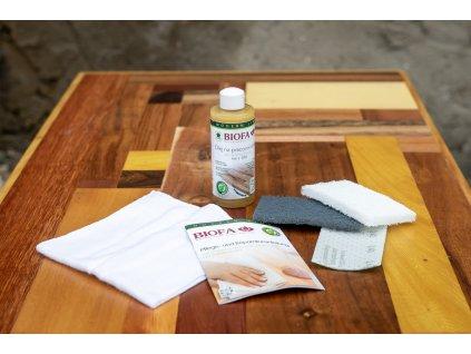 BIOFA souprava na údržbu a opravy dřeva LR 2