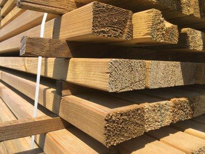 Riegel - modřínové dřevo 70/40