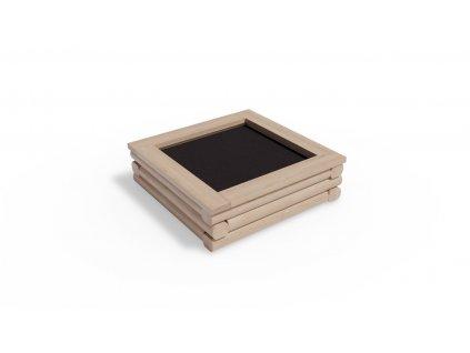 Vyvýšený záhon 90x90  čtvercový, malý
