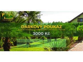 Dárkový Poukaz - Hodnota - 3000 Kč