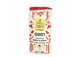 gluten free flour for bread and pizza 1 kg petra