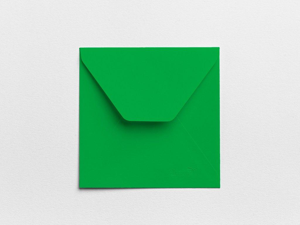 Obálky Čtverec smaragdové (3ks)