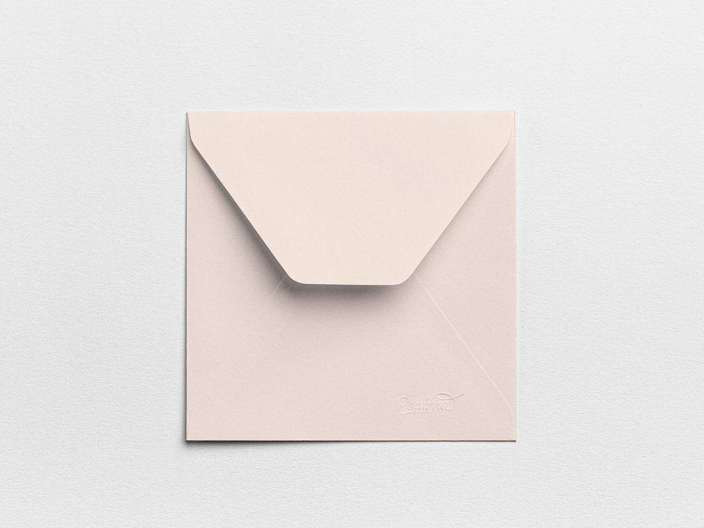 Obálky Čtverec tělové (3ks)