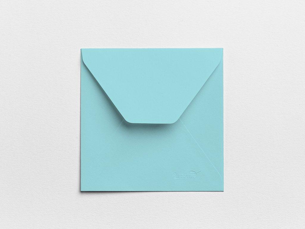 Obálky Čtverec ledové (3ks)