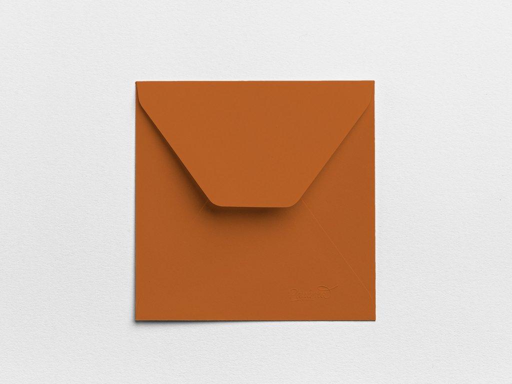 Obálky Čtverec jílové (3ks)