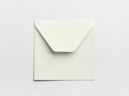 Obálky Čtverec perlové (3ks)