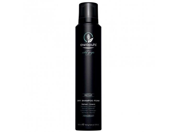 AWG dry shampoo foam