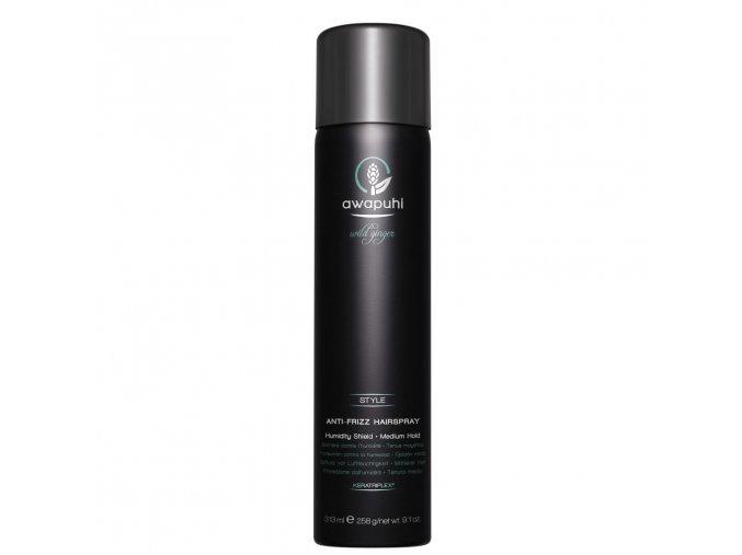 AWG antifrizz hairspray