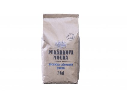 Mouka pšeničná celozrnná jemná 2kg