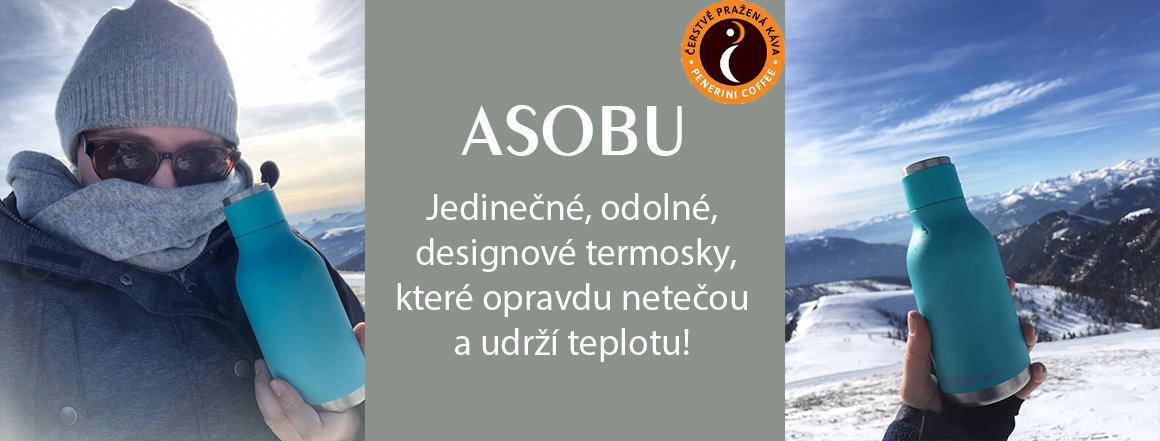 Termosky Asobu, které netečou!