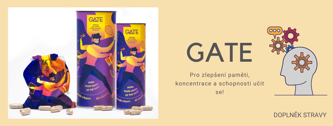 GATE doplněk stravy