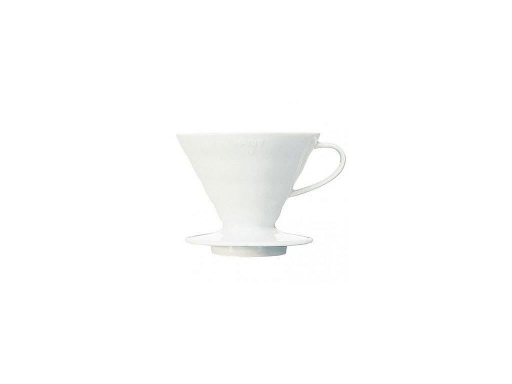 Hario dripper V60-01 keramický bílý