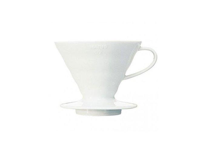Hario dripper V60-02 keramický bílý