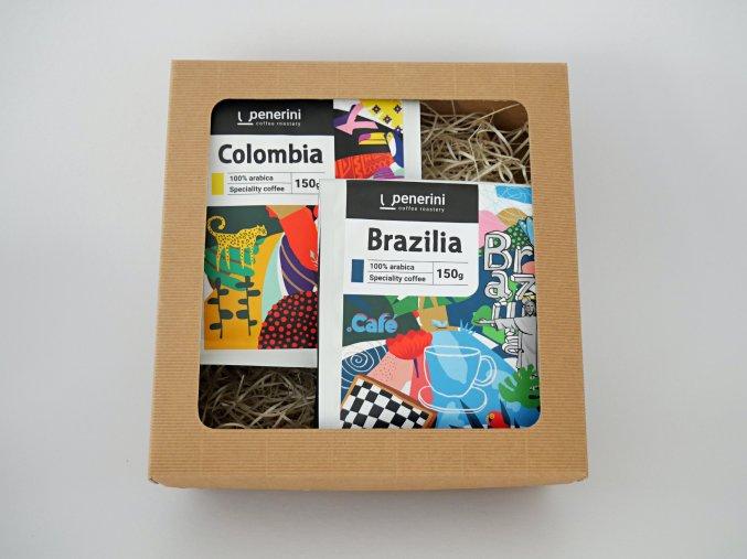 Degustační balíček káv 2x 100g