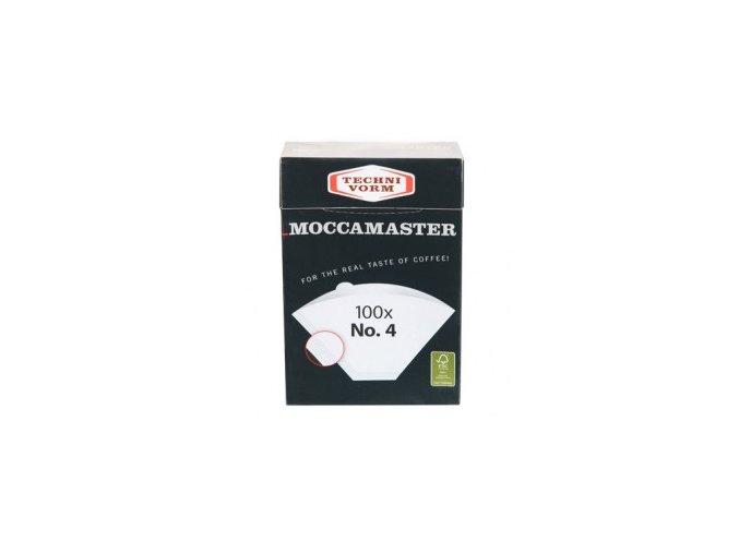 Papírové filtry moccamaster vel. 4 (100 ks)