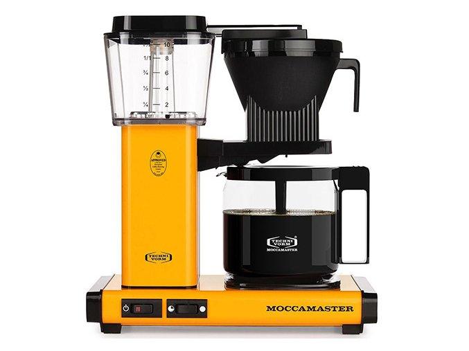 technivorm moccamaster kbg741 yellow pepper 500px