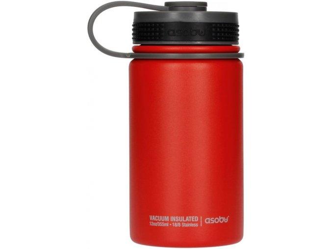 Cestovní termoska ASOBU Mini Hiker - červená