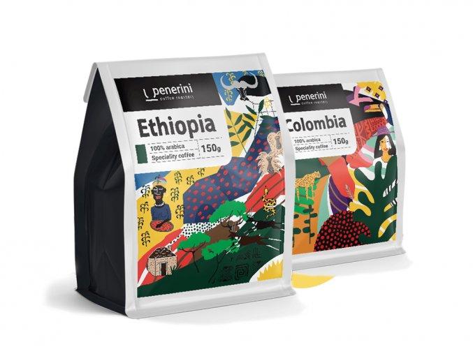 Degustační balíček káv do ovocných tónů 3x 100G