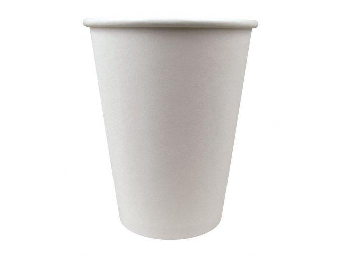 Jednorázový kelímek na kávu bílý 0,18 l (100 ks)