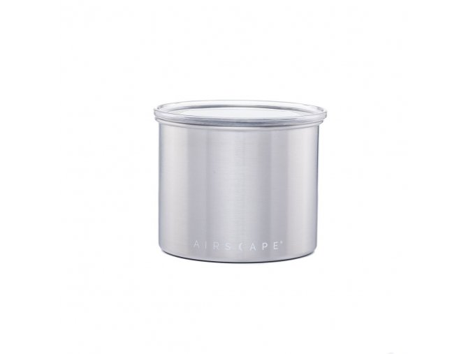 Dóza na kávu brushed steel 250 g