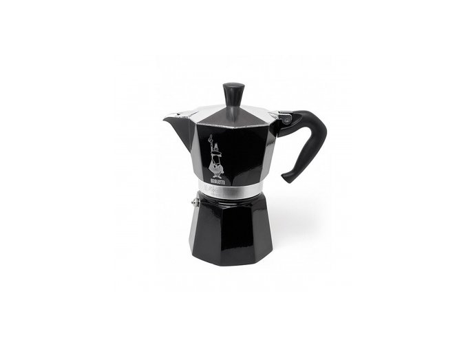 Bialetti Moka Express Black 3 porce