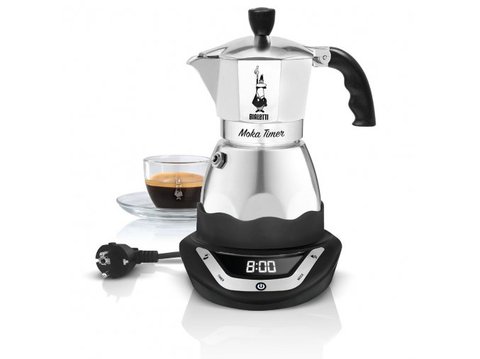 Bialetti kávovar Easy Timer 3 porce
