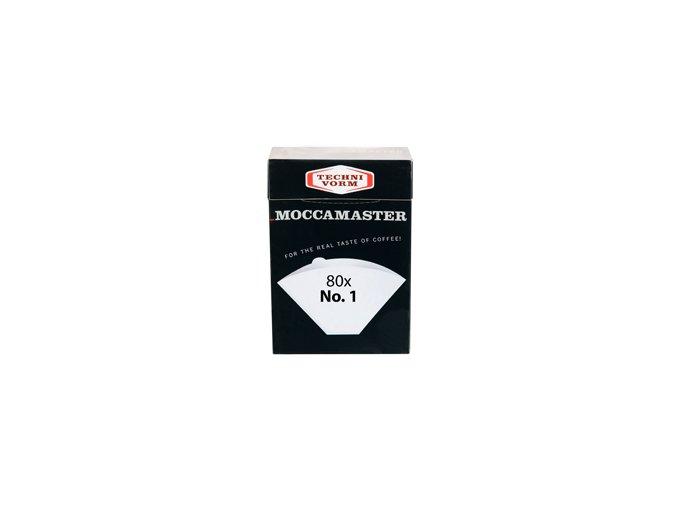 Papírové filtry moccamaster vel. 1 (80 ks)