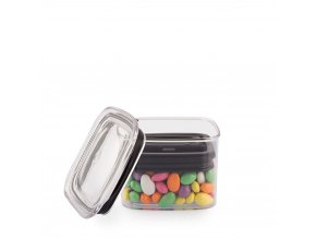 Airscape Lite kitchen canister small almonds