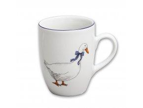 Karlovarský porcelán Hrnek - Husy 320 ml