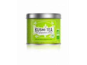kusmi tea organic green ginger lemon 100 g