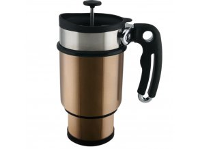 DoubleShot French Press Mug Mocha