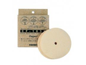 Hario papírové filtry pro Vacuum pot (100 ks)
