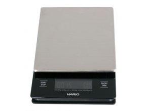 Hario V60 nerezová digitální váha se stopkami
