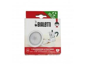 Bialetti těsnění a filtr na 2 porce moka