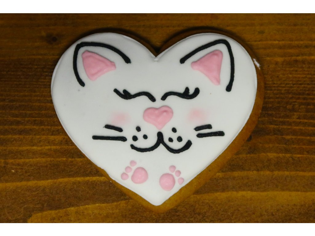 Srdíčko kočka