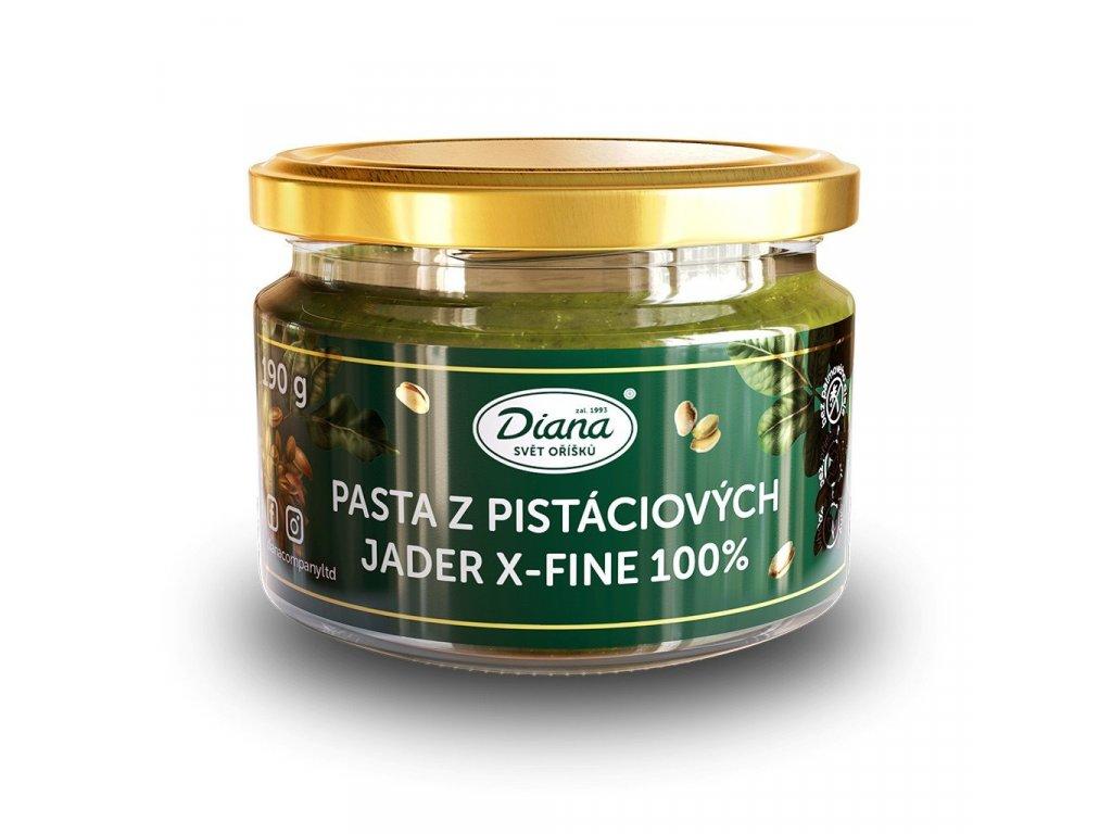 4696 pasta z pistaciovych jader x fine 190g diana company