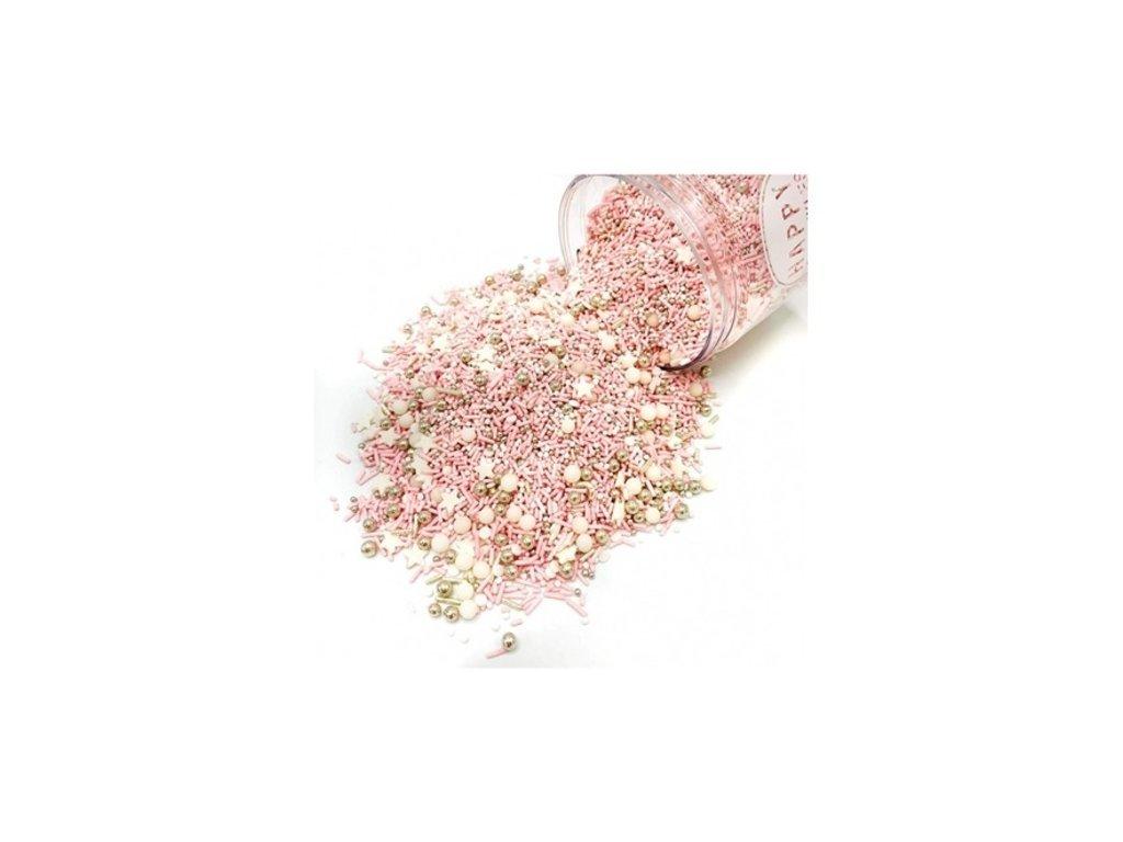 zdobení růžové