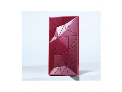 martellato ma2022 polycarbonate mirror chocolate bar mold 138x72x9mm 86gr 3 cavity bars napolitains molds