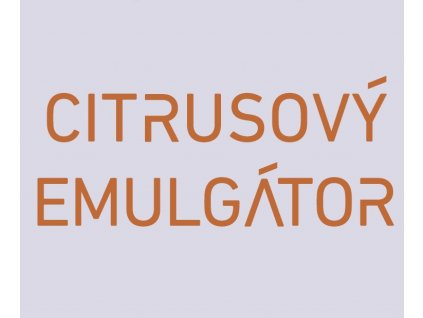 citrusovy emulgator