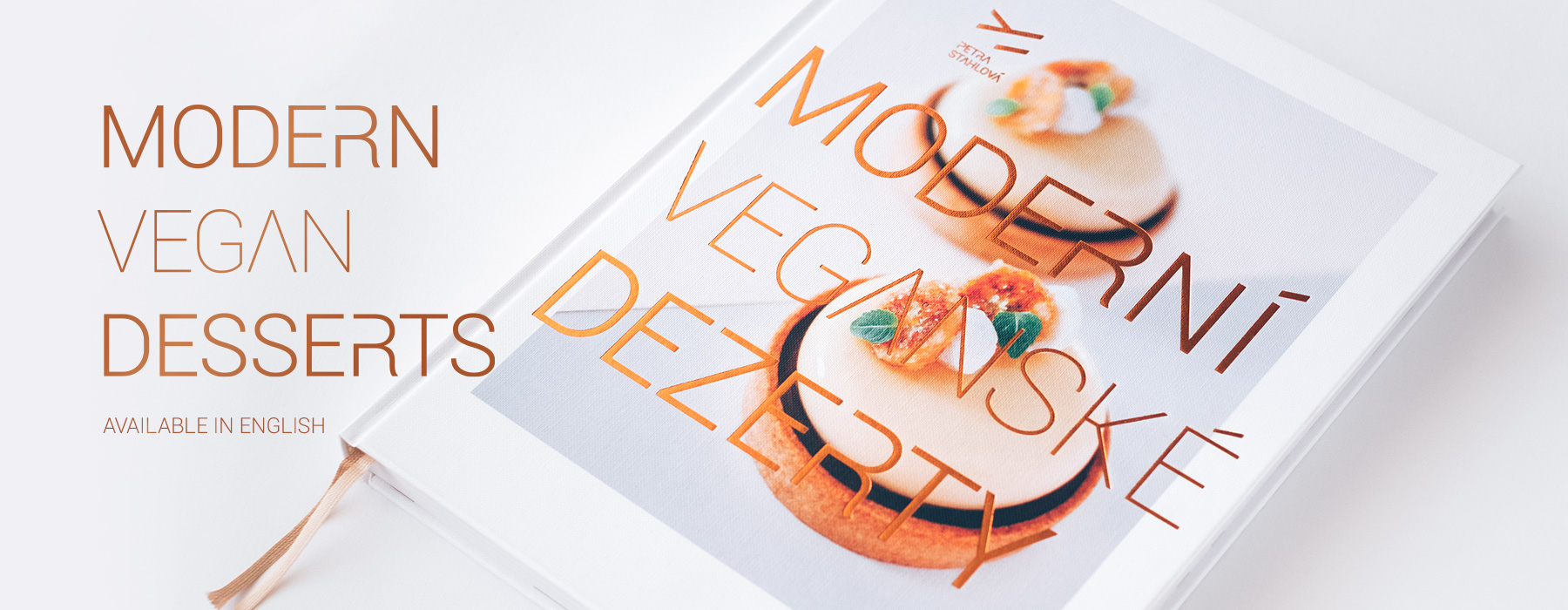 Modern Vegan Desserts - Available in English - April 2019