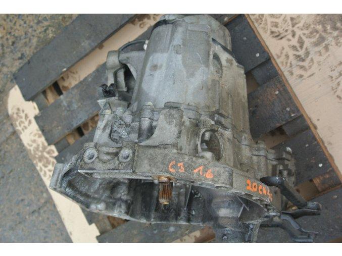 Převodovka Citroen C3 1.6 20 CN 40