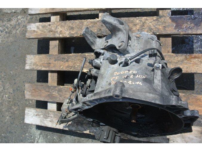 Převodovka Citroen C5  1.6 HDI 20 DP 50