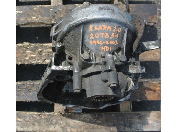 Převodovka Citroen Xsara  2.0 HDI  20 TB 51