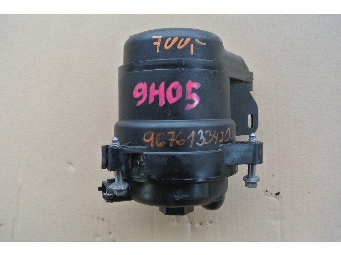 Skříň palivového filtru motoru 9H05 Peugeot, Citroen 9676133430