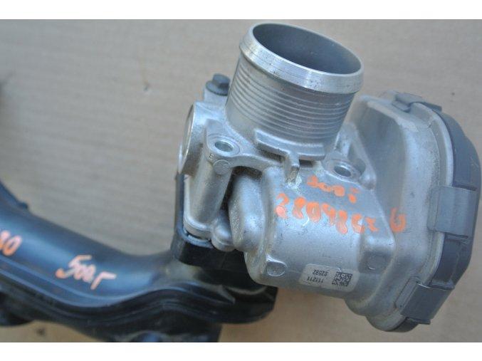 Škrtící klapka motoru 1.6 HDI Peugeot, Citroen 28098656