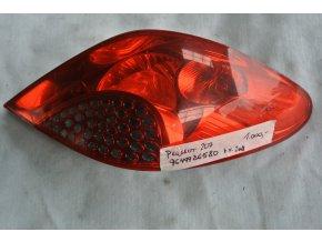 Zadní světlo pravé Peugeot 207 č.9649986580