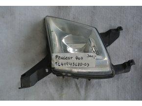 Mlhové světlo přední levé Peugeot 407 č. 9641945680-03